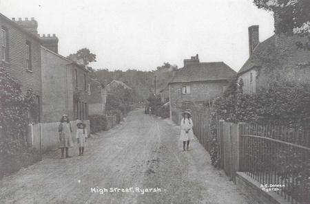 Old images of Ryarsh Village