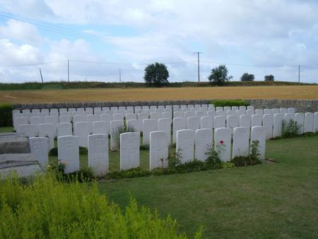 Verchain British Cemetery, Verchain-Maugre, Nord 1