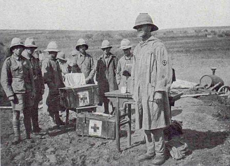 South Wales Borderers at Tsingtao