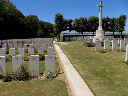 Bucquoy Road Cemetery, Ficheux, Pas de Calais 1