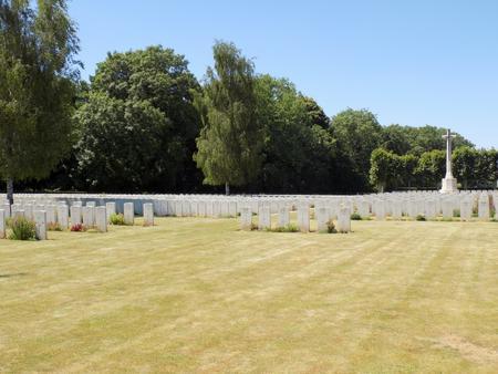 Bucquoy Road Cemetery, Ficheux, Pas de Calais 4