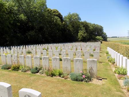 Bucquoy Road Cemetery, Ficheux, Pas de Calais 2
