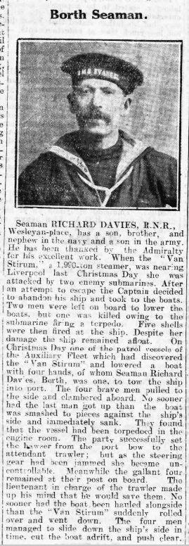 Richard DAVIES - Cambrian News 17Nov2016 - Page 6