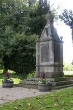 War Memorial at Churchill and Sarsden Oxfordshire