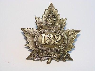 132nd Cap Badge