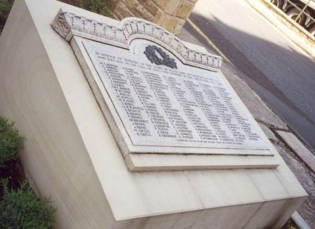 John Mackintosh WW1 memorial