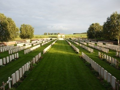 Grenvillers War Cemetery