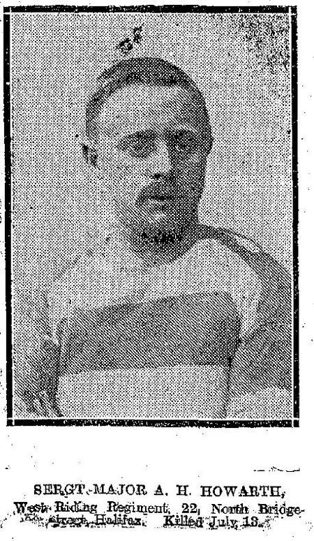 Profile picture for Albert William Howarth