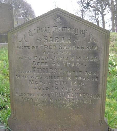 Profile picture for Ernest Sanderson