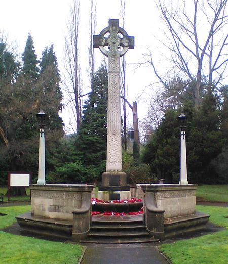Altrincham War Memorial.