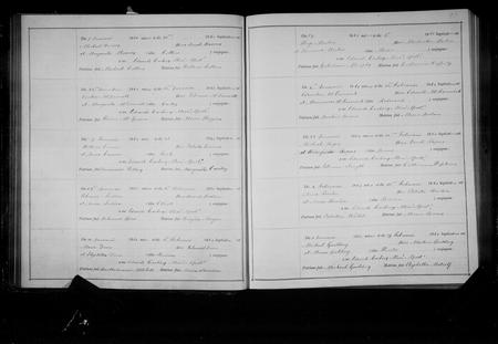 Baptism Register 1890 St. Werburgh's Chester