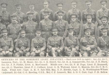 SLI Officers Group Photo