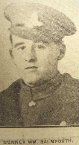 Profile picture for William Balmforth