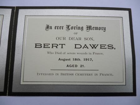 Profile picture for Bert Dawes