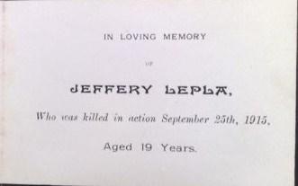 Profile picture for Jeffery Lepla