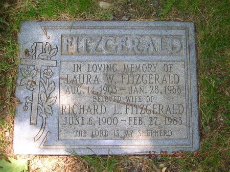 R L Fitzgerald headstone