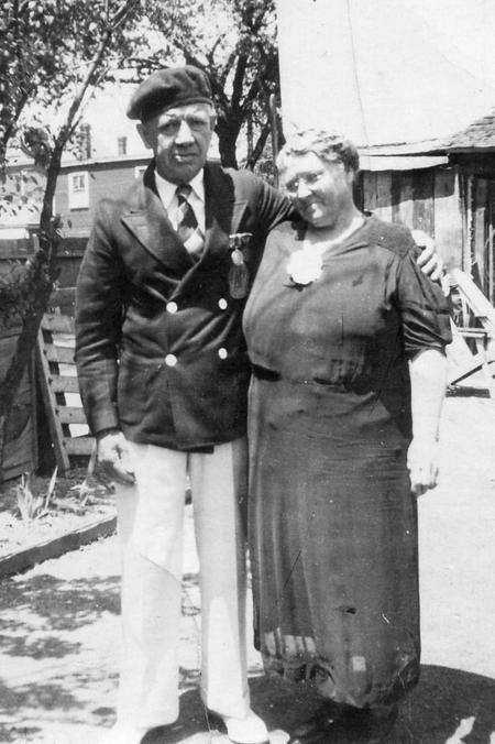 Nicholas Hessen Davey with wife Elizabeth (Church)