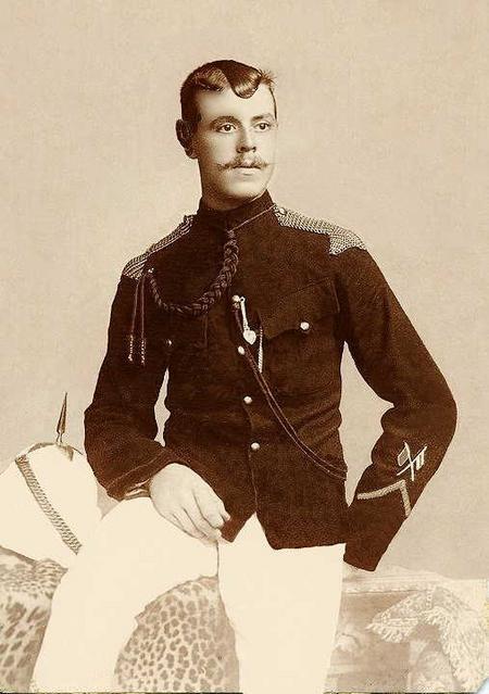 James Lowe in dress uniform