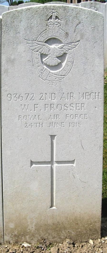 Profile picture for William Frederick James Prosser