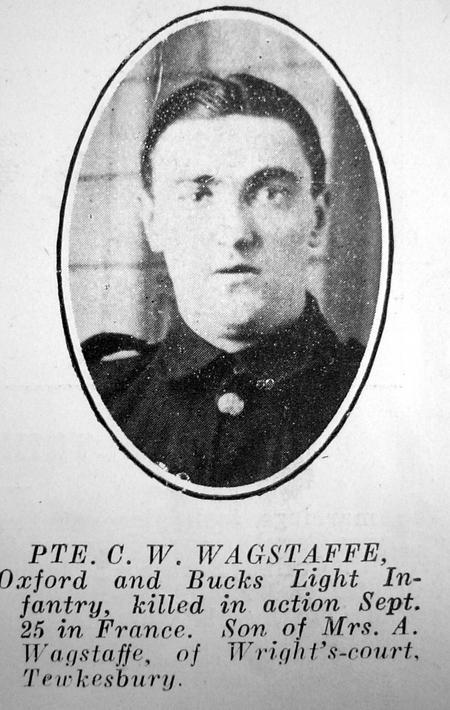 Profile picture for Cecil William Wagstaff
