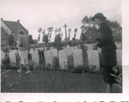 Essex Farm Cemetery in 1936