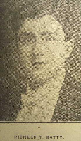 Profile picture for Thomas Batty
