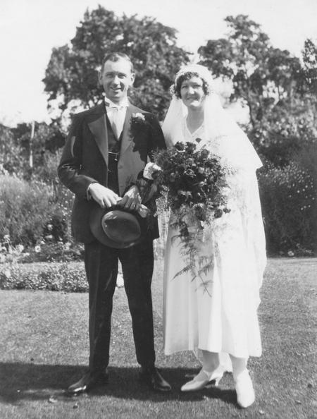 Wedding Robert Greenhill and Elsie Taylor