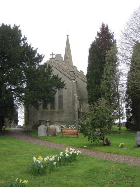Elmley Lovett church