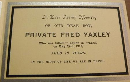 Profile picture for Fred Yaxley