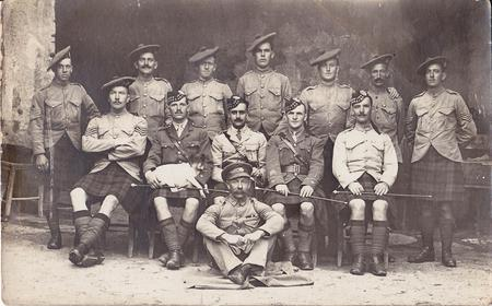 Robert Ferguson Armstrong (seated 2nd from right)
