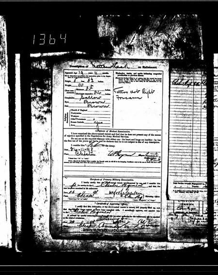 British Army WWI Pension Records 1914-1920