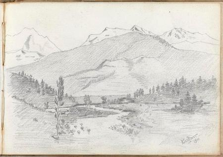 Illustration of Kashmir, 1911