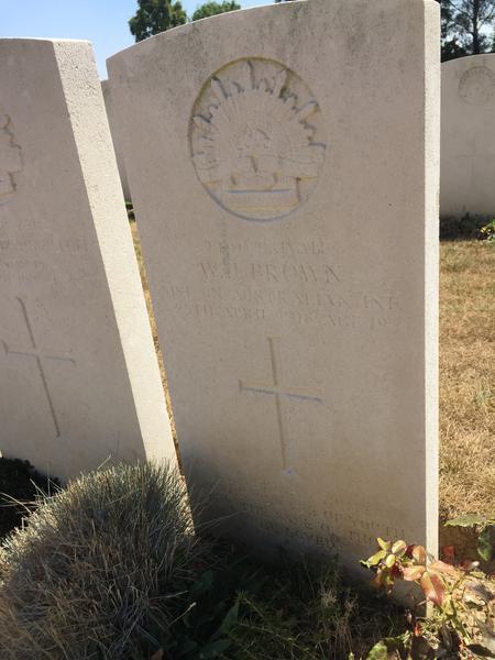 Adelaide Cemetery, Villers-Bretonneux