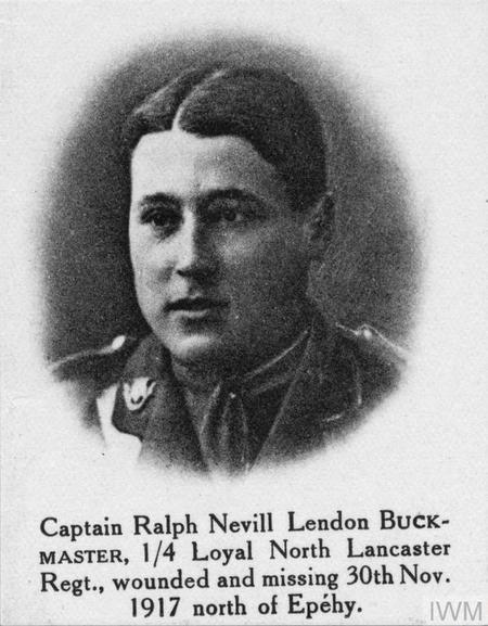 Profile picture for Ralph Nevill Lendon Buckmaster