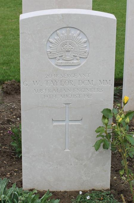George William Taylor's grave