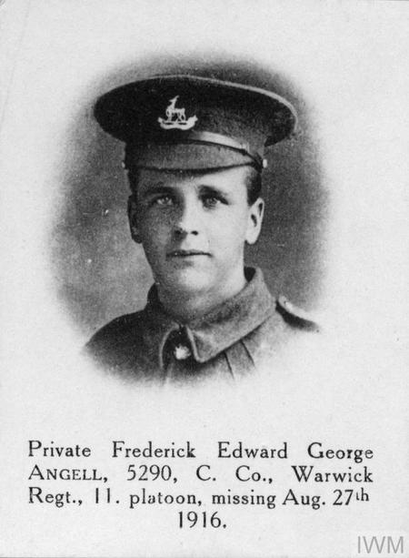 Profile picture for Frederick Edward George Angell