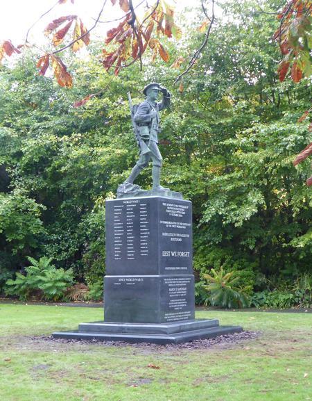The Knutsford Centennial War Memorial