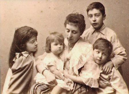 Emily Talbot and her Children