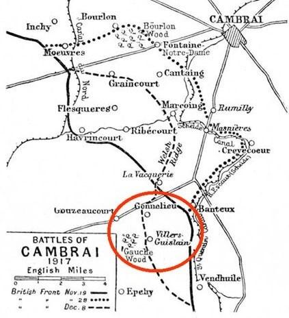 Killed - 30th November 1917