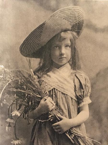 Kathleen as a child