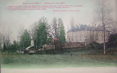 Le Chateau de Vauxcelles, Vailly-sur-Aisne