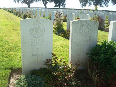 Unknown Royal Irish Regiment Soldiers
