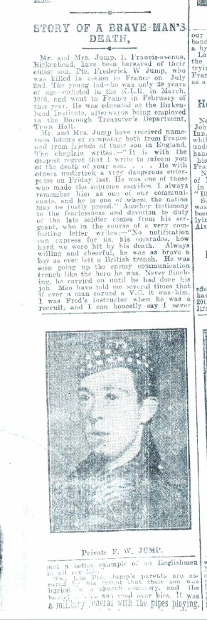 News article extracted from Birkenhead News