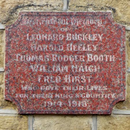 Thongsbridge Mills War Memorial