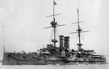 HMS Canopus 1906-07
