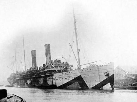 HMS Kildonan Castle
