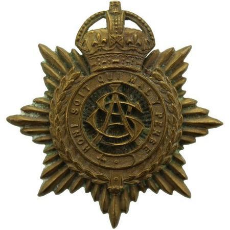 ASC cap badge