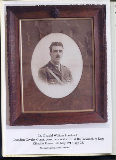 Profile picture for Oswald William Hardwick