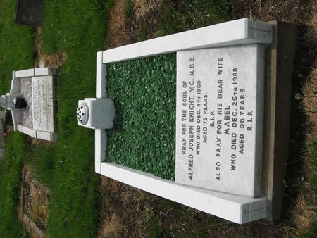 Grave of Alfred Knight VC