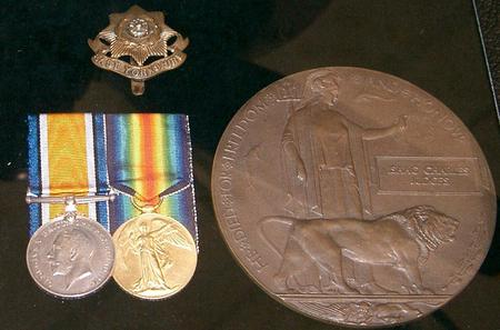 Medals and Memorial Plaque to Isaac Charles Judges